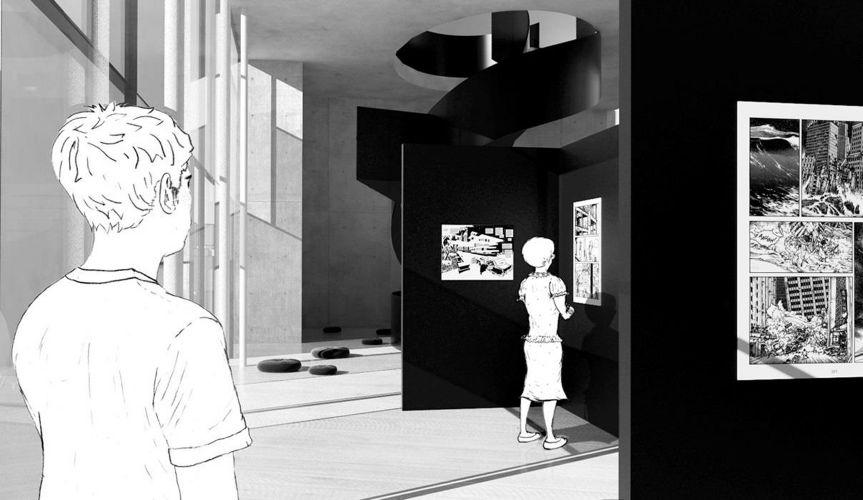 1207 | Ideenentwurf | ComicScraper, Tokio | Exhibit