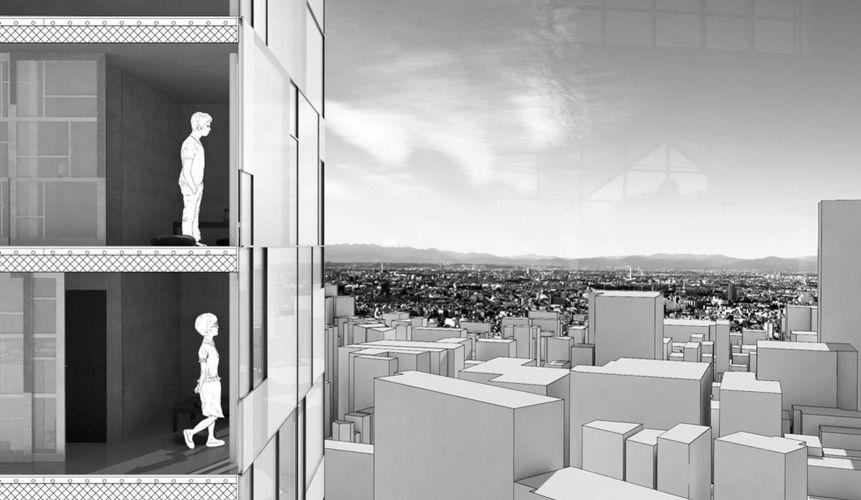1207 | Ideenentwurf | ComicScraper, Tokio | Sectionscape