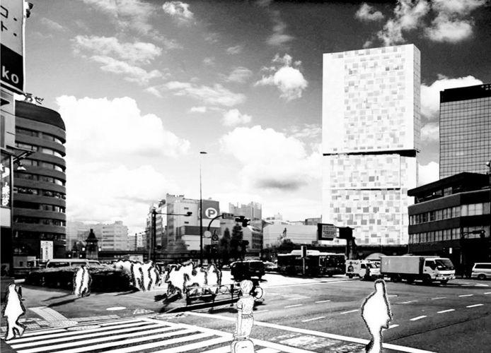 1207 | Ideenentwurf | ComicScraper, Tokio | Street