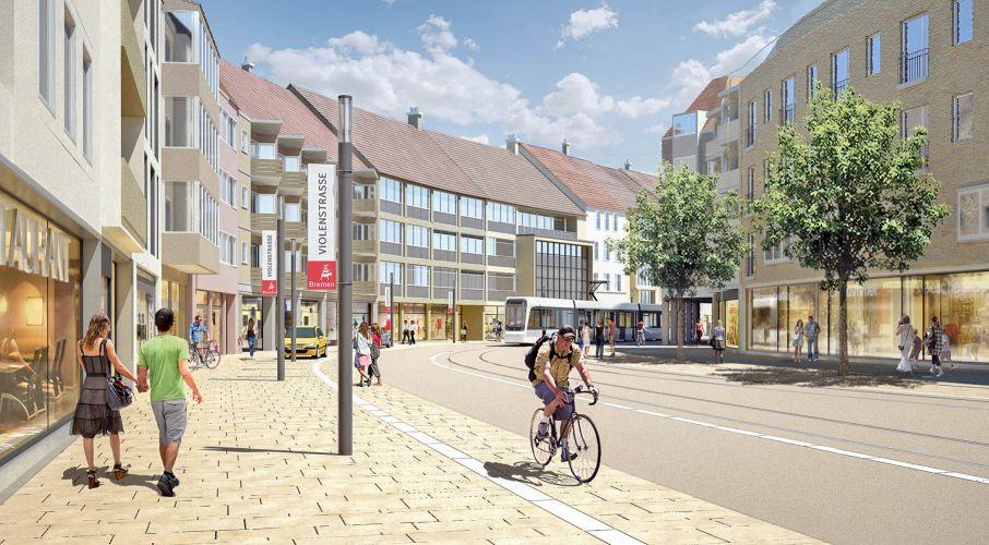 1301 | Bremen Innenstadt 2025 | Violenstraße