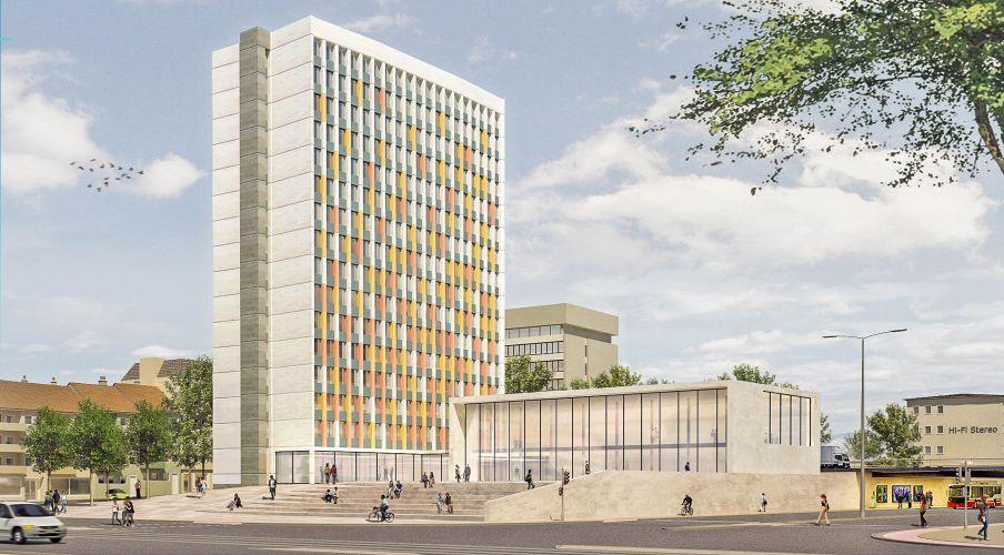 1301 | Bremen Innenstadt 2025 | Bundeswehrhochhaus