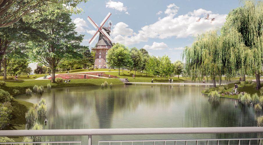 1301 | Bremen Innenstadt 2025 | Windmühle