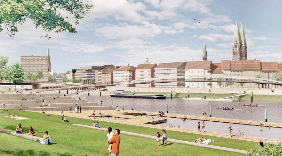 1301 | Bremen Innenstadt 2025 | Weserufer