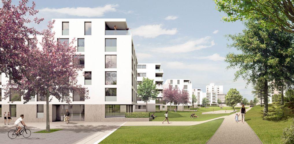 1304 | WB 'Steiger', Stuttgart | Punkthäuser