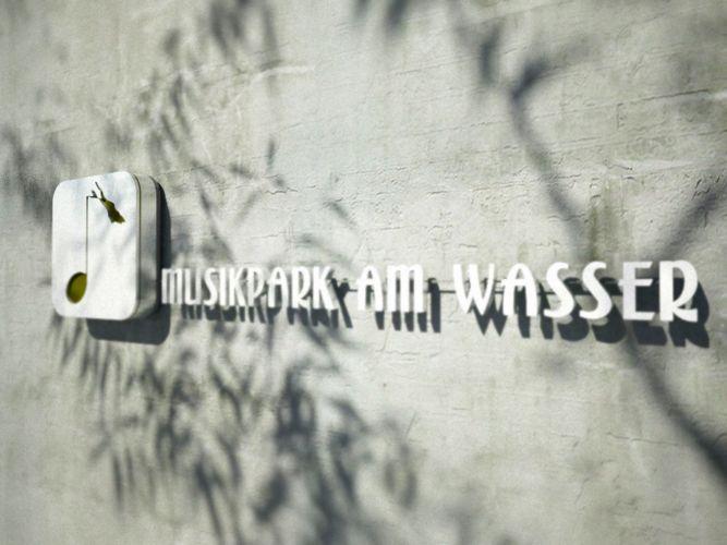 1108 | Logo 'Musikpark am Wasser' | 01 Schriftzug