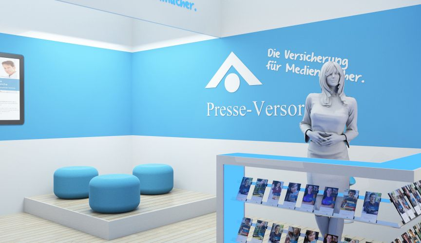1208 | Messestand 'Presse-Versorgung' | Zoom